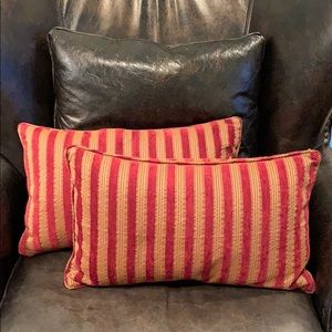 Two 12x20 in restoration hardware pillowcases